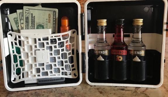 White LuxePak Travel Case PartyPak